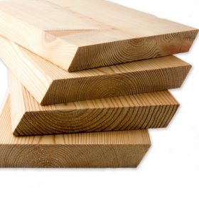 SertiWOOD RainScreen Rhombus Siberian Larch Cladding boards