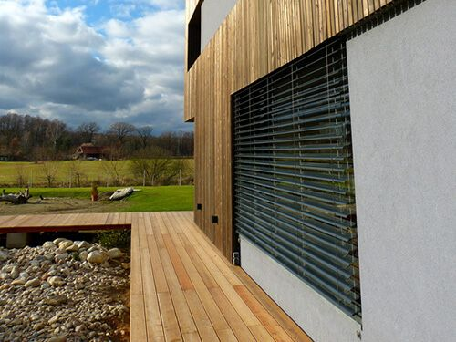 Siberian Larch Cladding and Decking