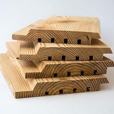 Timber Focus siberian Larch shiplap profile