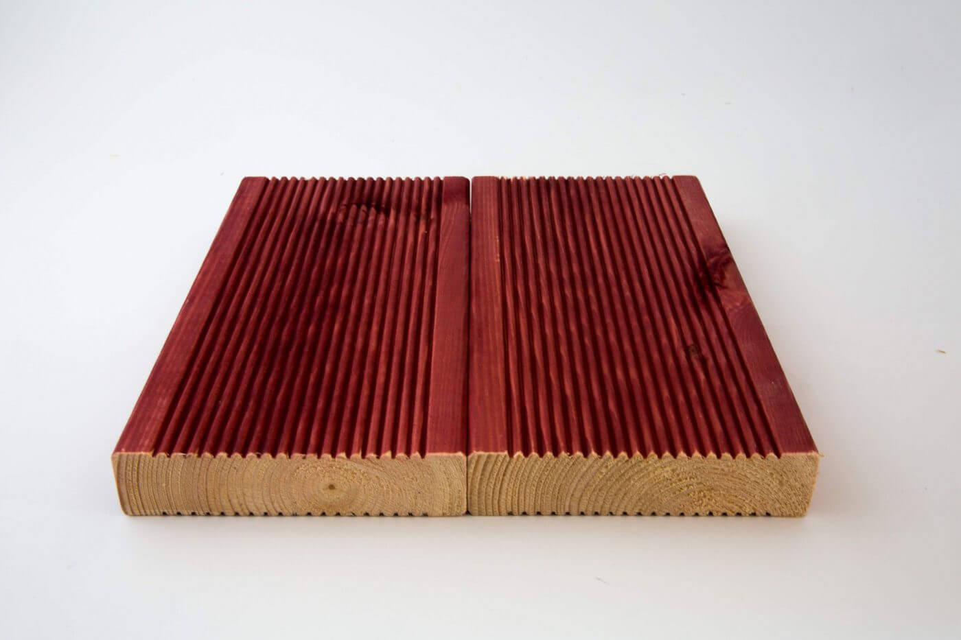 Timber Deck boards from Timber Focus pet and child friendly stained and oiled