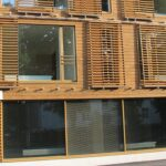 Factory Painted stained timber cladding