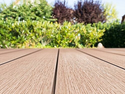 Alternative Premium Quality Composite Decking Range from www.woodplastic.eu made in the EU