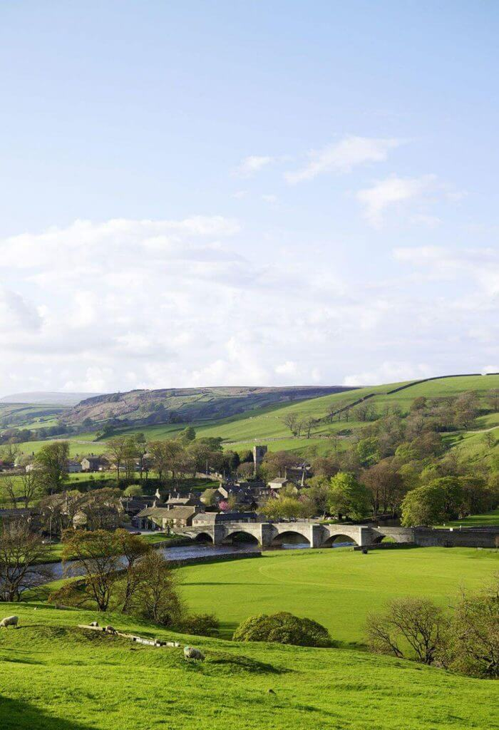 Beautiful Yorkshire Dales Landscape