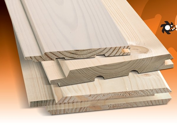 Machined and Painted Timber Cladding by Timber Focus