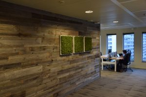 Internal Wall Cladding reclaimed timber Barnwood in a Box
