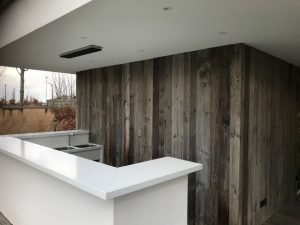 Reclaimed Recycled old look timber cladding