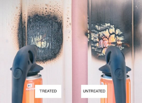 Fire Treated Cladding