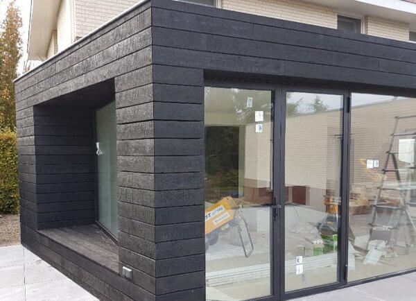 Charred-Burnt-Scorched-Cladding Siding