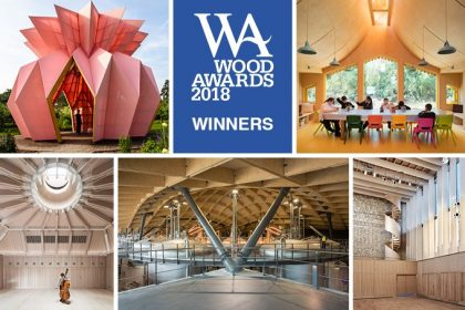 2018 winning timber projects UK Wood Awards
