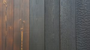 Charred-Burnt-Scorched-Cladding Oiled and Brushed Rubio Sealed Exterior Cladding