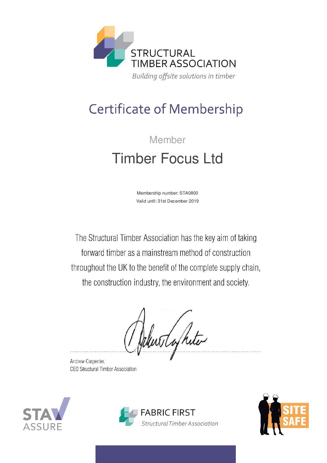 Timber Focus Structural Timber Association Timber