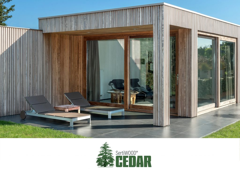 Durable Clear Hardwood for cladding decking and flooring SERTIWOOD Cedar a good alternative to WRC Western Red Cedar