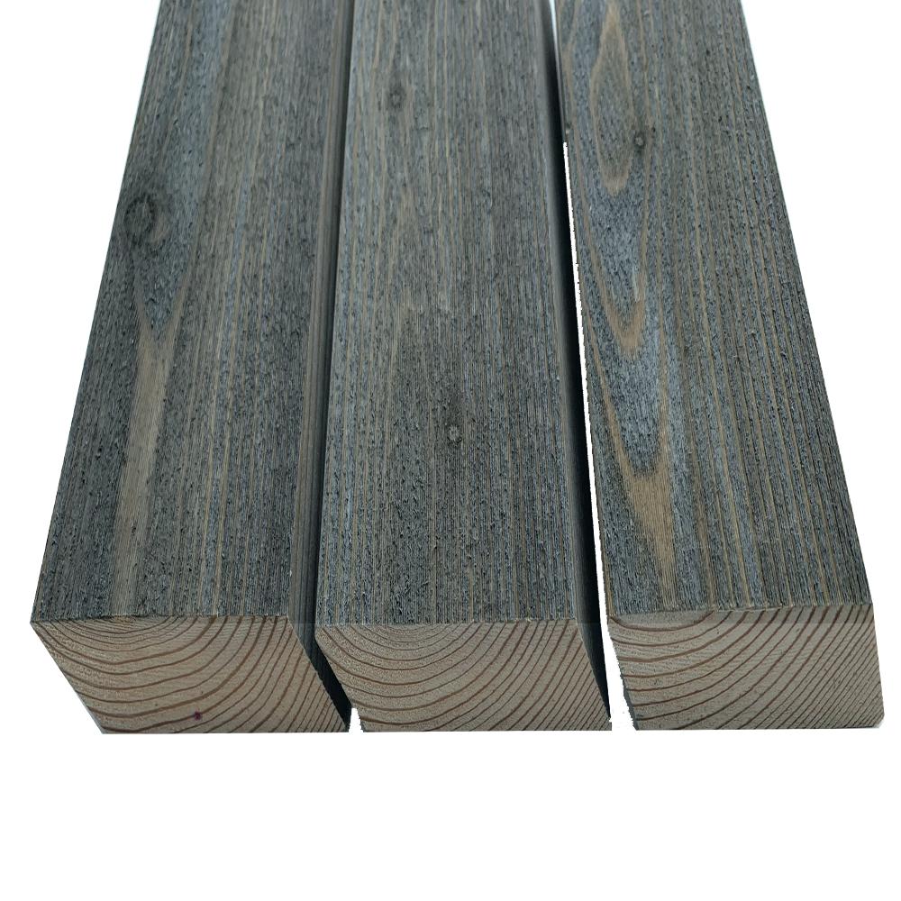 Pre Aged old look Siberian Larch Rainscreen Rhombus 28x70mm Narrow Profile