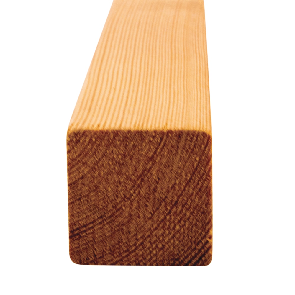 Siberian Larch, Heartwood, Planed Square Edge (with eased corners/ no sharp edges) Multiple Use (pack)