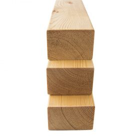 Siberian Larch, Heartwood, Planed Square Edge (with eased corners/ no sharp edges) Multiple Uses (pack)