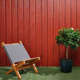 SertiWOOD® Viking Painted Cladding - Swedish Red
