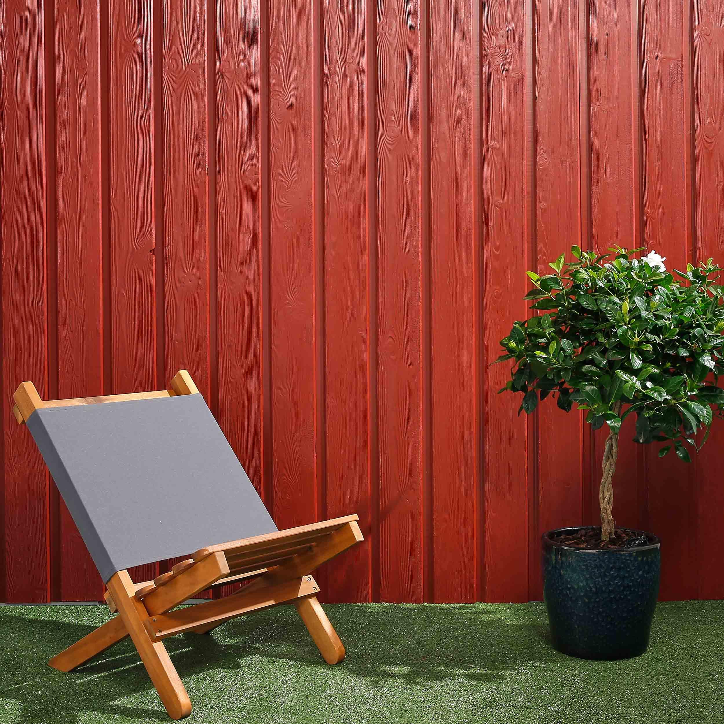 SertiWOOD® Viking Painted Cladding - Swedish Red