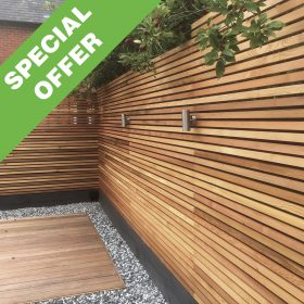 Timber Focus Canadian Western Red Cedar Screen Slats
