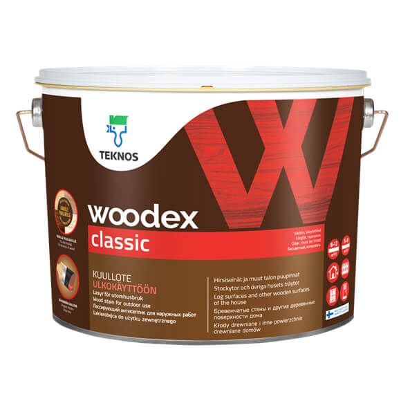 Siberian Larch Cladding Woodstain UV Pigmented